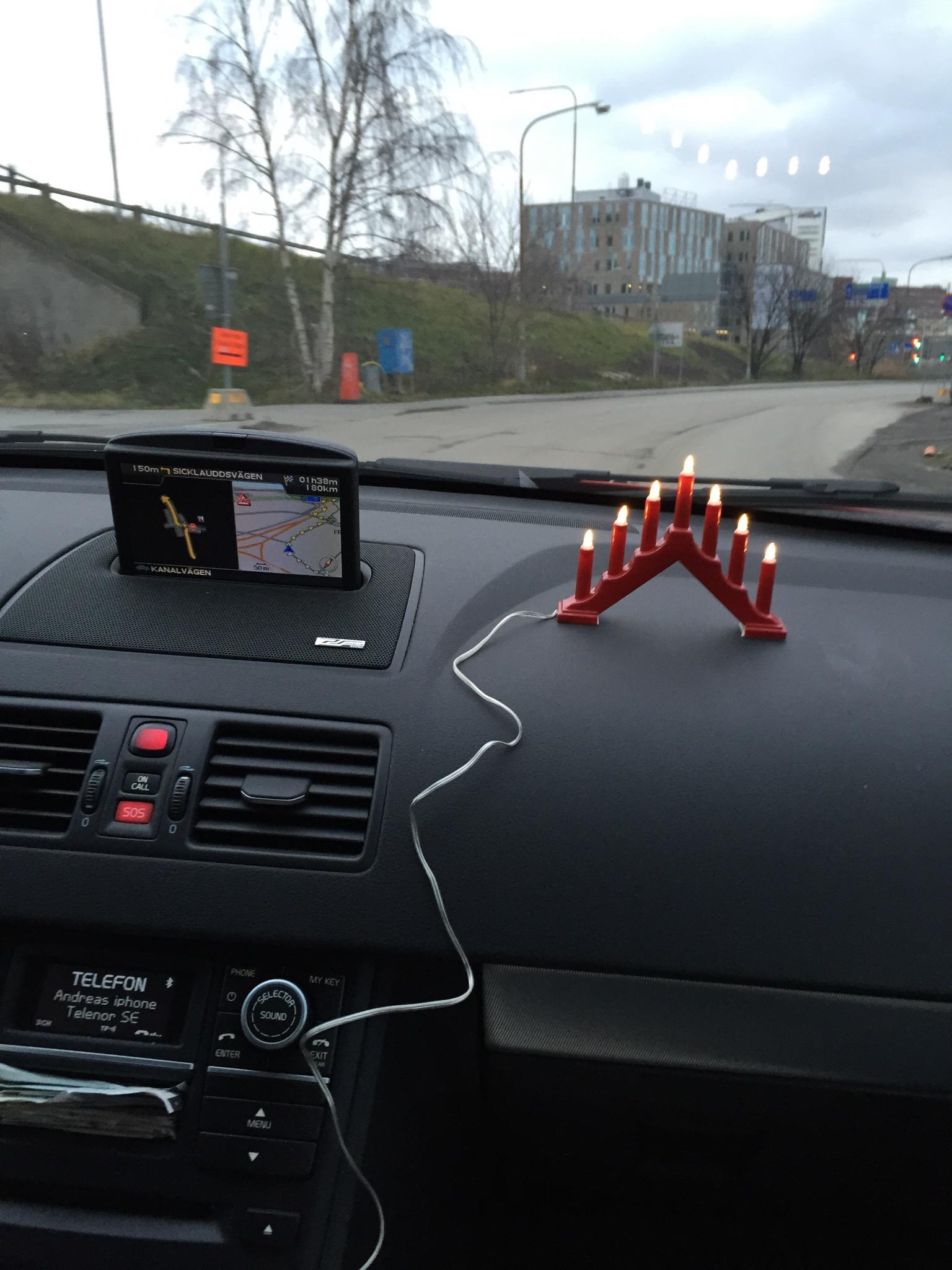 ljusstake för bil