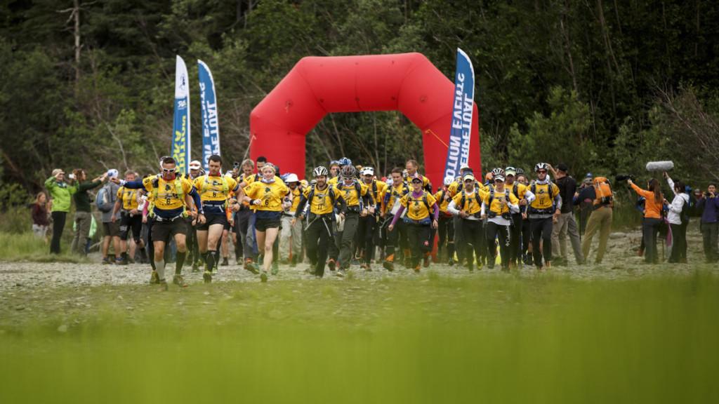 Det obligatoriska 10 km-tempot trots sju dygns stundande tävling. Foto: Chris Radcliff.