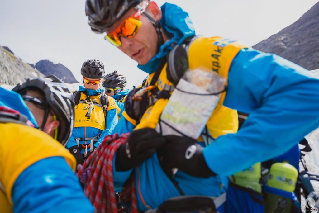 Fixa, trixa, rodda innan glaciären. Foto: Kaori Photo.