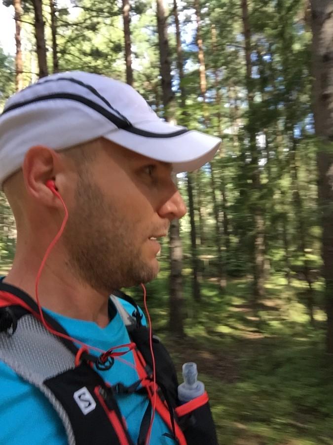 25 sköna kilometer i skogen!