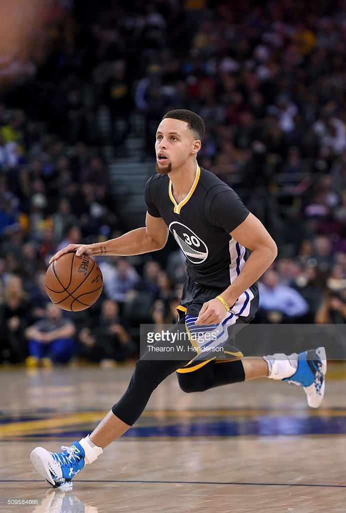 <> at ORACLE Arena on February 6, 2016 in Oakland, California.