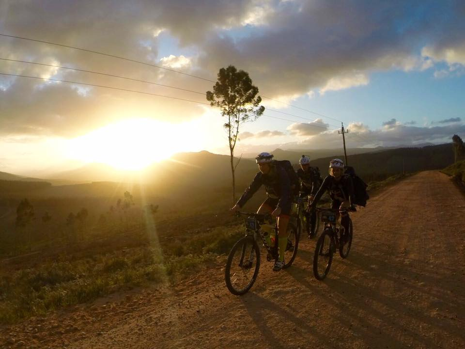 cykel i sol