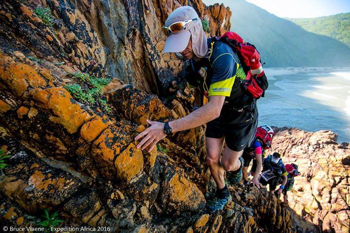 Första trekkingen var (också) lite kuperad på sina håll.